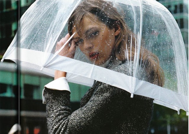 clear umbrella